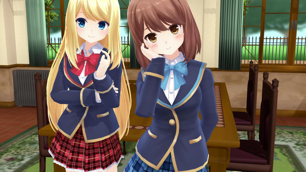 The schoolgirls of girlfriend BETA (win100%) by DaydreamOtaku