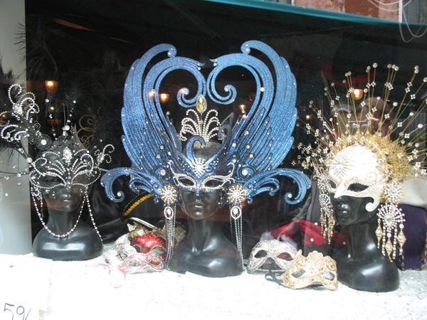 Venice- masks by magickstock