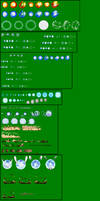 Naruto Shippuden Different Rasengans Sprite Sheet by DanteWreckmen-999