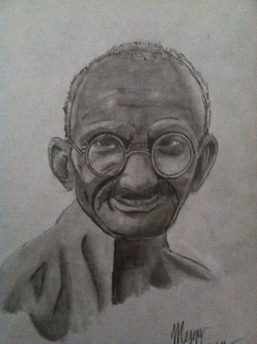 Gandhi by boxofplagues