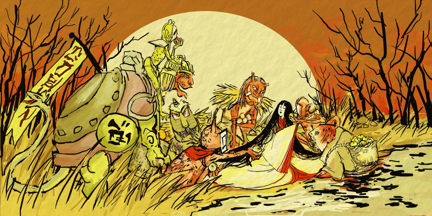 okami - goblin market by chupachup