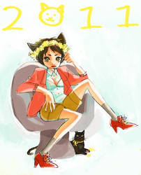 year of the cat 2011 by chupachup