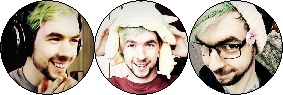 JackSepticEye Circle Stamps by Markyplier
