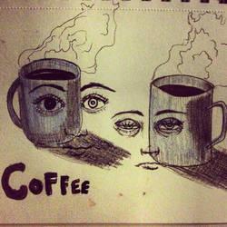 Coffee by brownalliecat