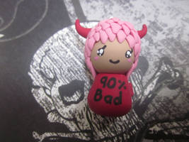Polymer Clay Chibi Devil by Darklunax110