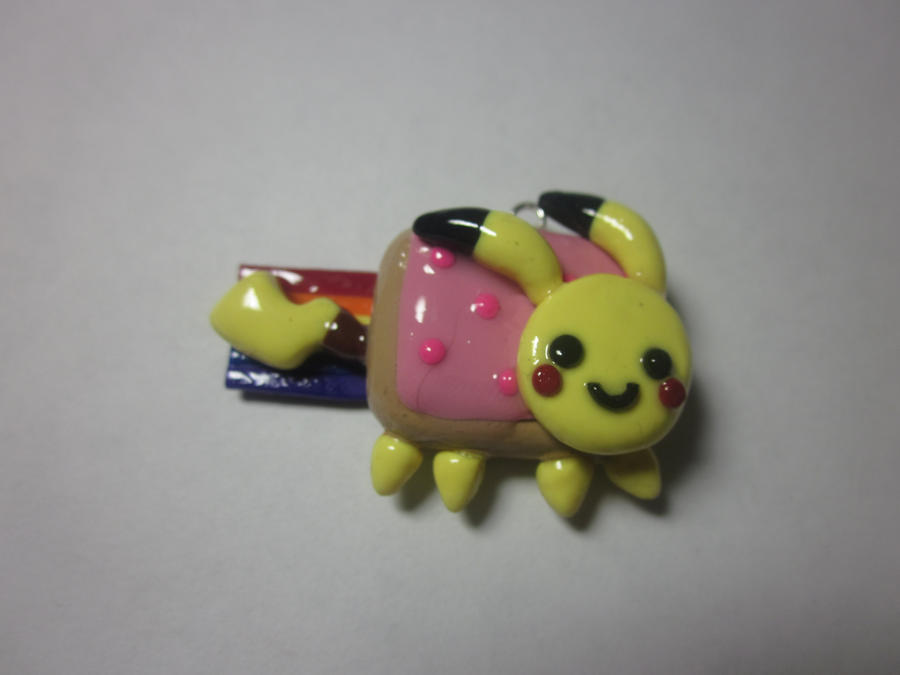 Pikachu Nyan Cat Gif Polymer Clay Pikachu Nyan Cat