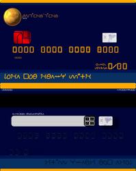 Bank of Liche Credit Card Mockup - AOZTG
