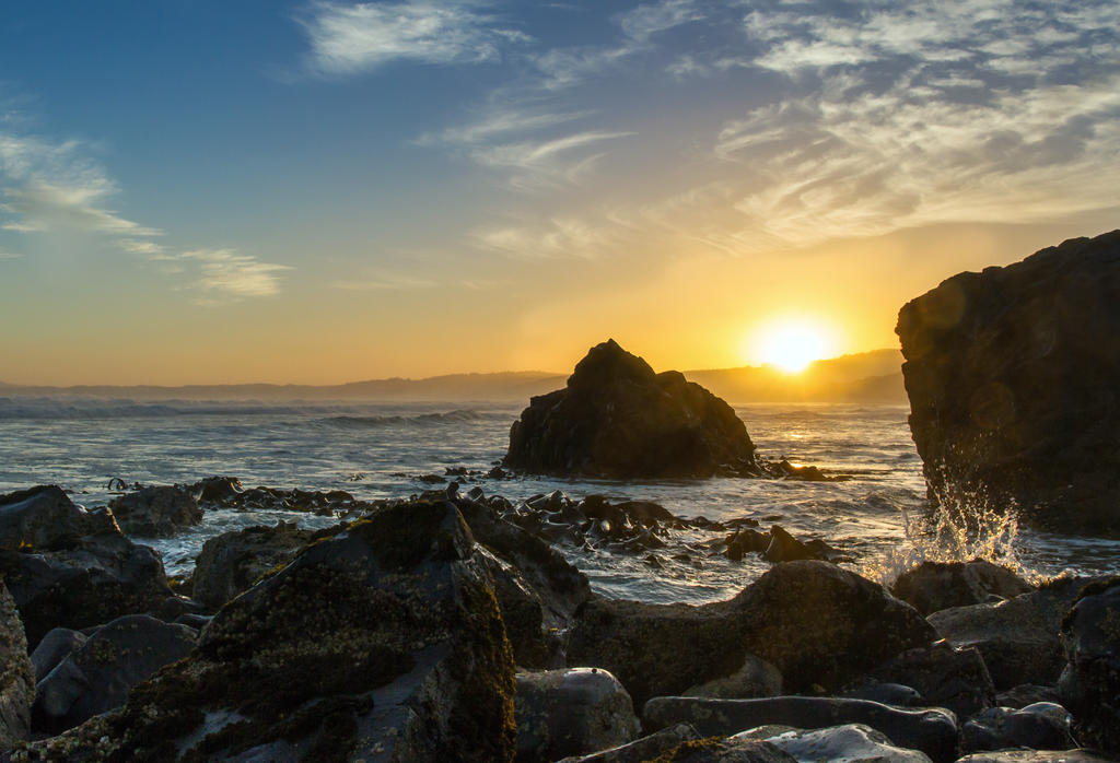 Rocky Sunset by ARC-Photographic