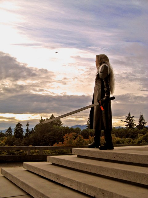 Sephiroth - Sun Set by rifa