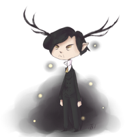 The Deer Knight by El-Chaan