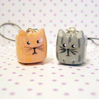 cube kitty cat charms