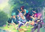 summer x magic by Aikorn