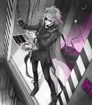 Cyberpunk boy by Aikorn