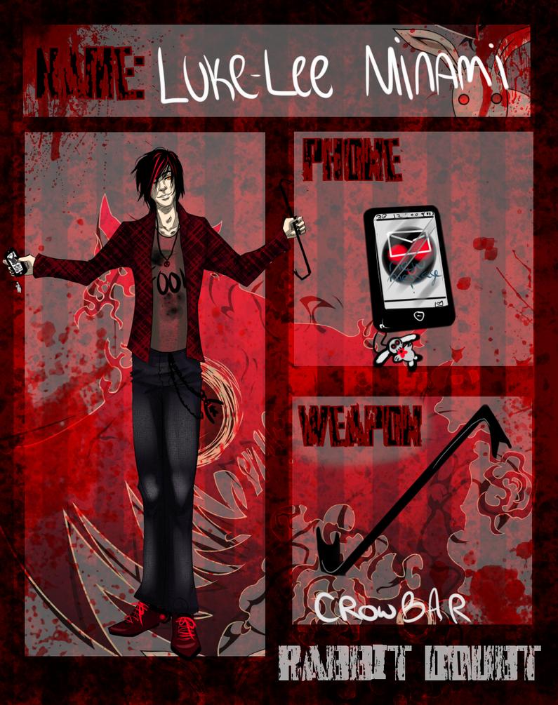 R.D APP: Luke-Lee by NeoRabbitastic