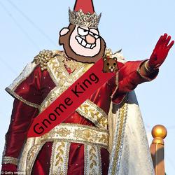Gnomeking by Cyberdoom5