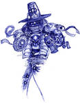 Witch Hunter sketch