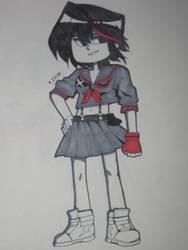 Ryuko! by CartoonMaru