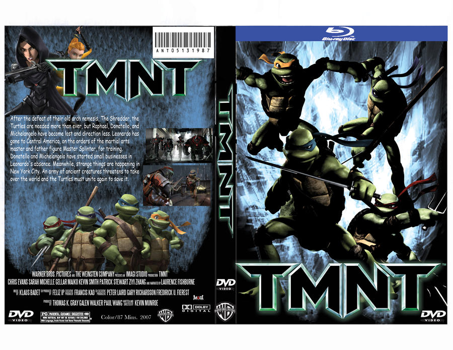 TMNT DVD Cover By Antthomas On DeviantArt
