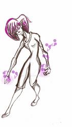 Unknown power girl