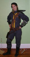 Fallout 3 Armored Vault Suit Cosplay Front