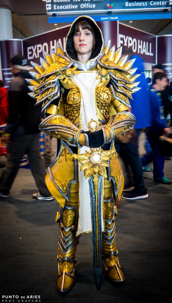 Tyrael armor cosplay