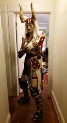 Diablo 3 Monk Tier 8 / Jazeraint Mail - Fit Test by SilverIceDragon1