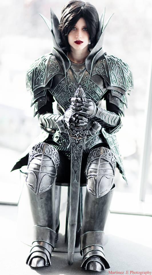 Dark Souls Black Knight Armor - No Helmet by SilverIceDragon1
