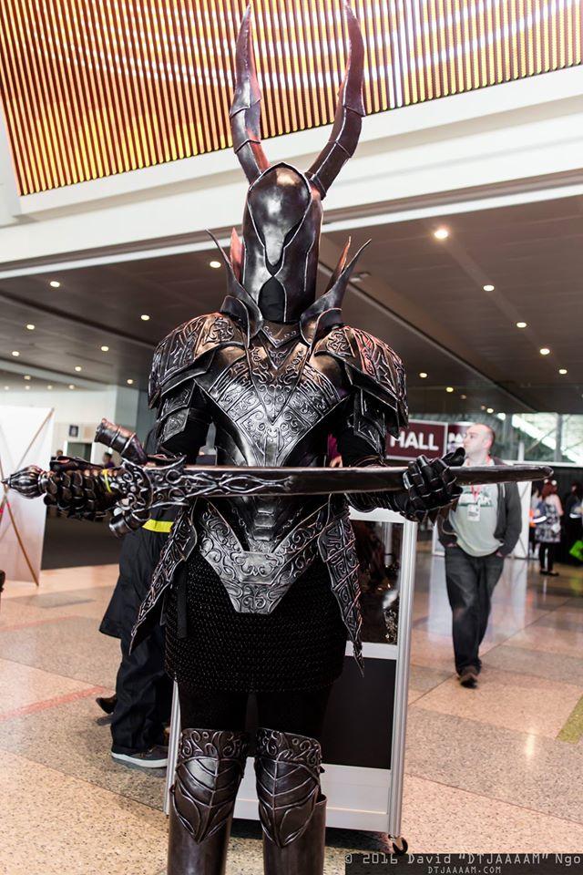 dark souls black knight at pax east 2016 by