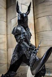 Dark Souls Black Knight by SilverIceDragon1