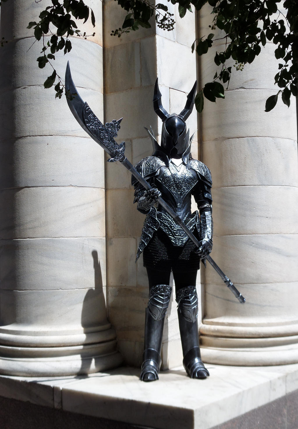 dark souls black knight cosplay by silvericedragon1 on