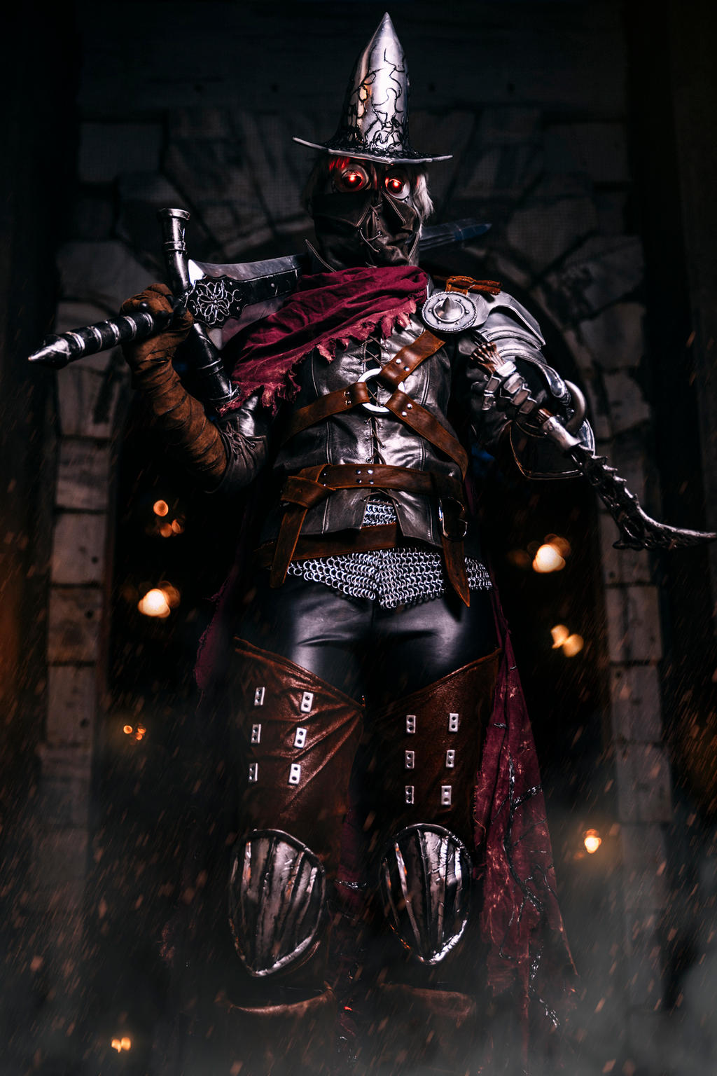 Dark souls 3 abyss watcher cosplay by silvericedragon1 on - Watchers dark souls 3 ...