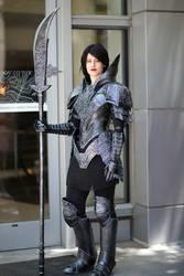 Dark Souls Black Knight Armor - Fanime 2018
