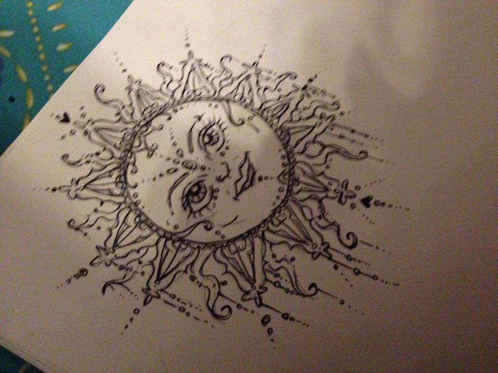 Henna Designs Moon And Sun Sun And Moon Henna Designs SunSun And Moon Henna Designs