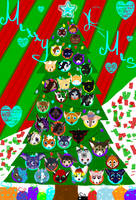 The Ornaments On A Tree by WolfMemories210