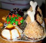 Cupcake TV Dinner