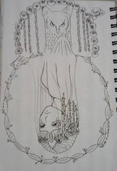 The Goddess of Spring, Bloduewedd/Inktober day 7