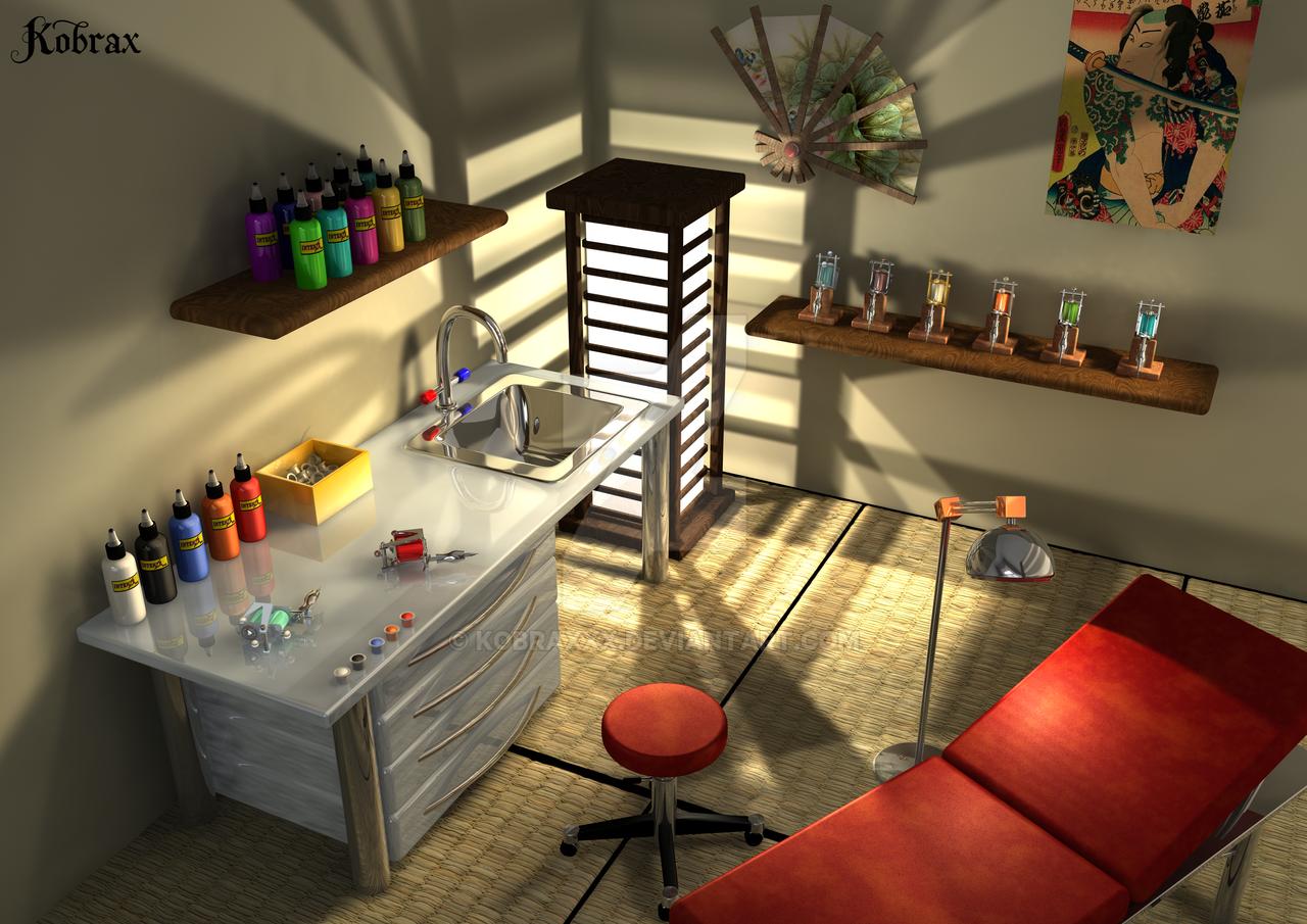 tattoo studio japan by kobraxxx on deviantart. Black Bedroom Furniture Sets. Home Design Ideas