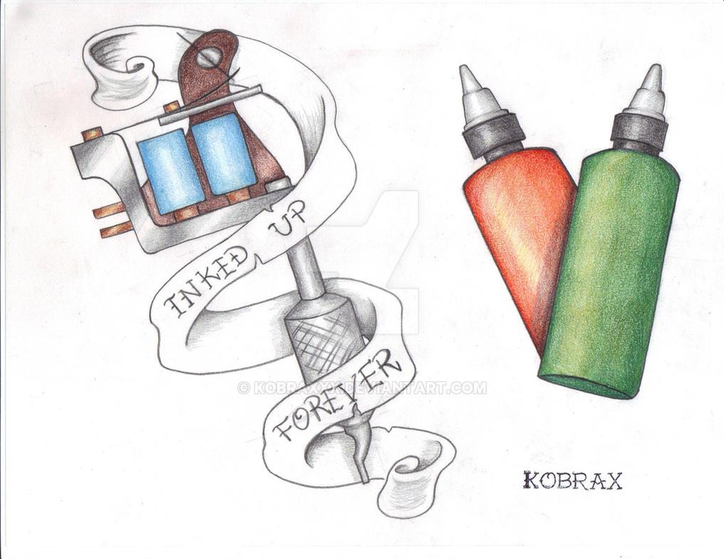 Tattoo Flash Traditional VII by Kobraxxx