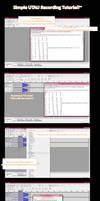 Simple Beginner UTAU recording Tutorial