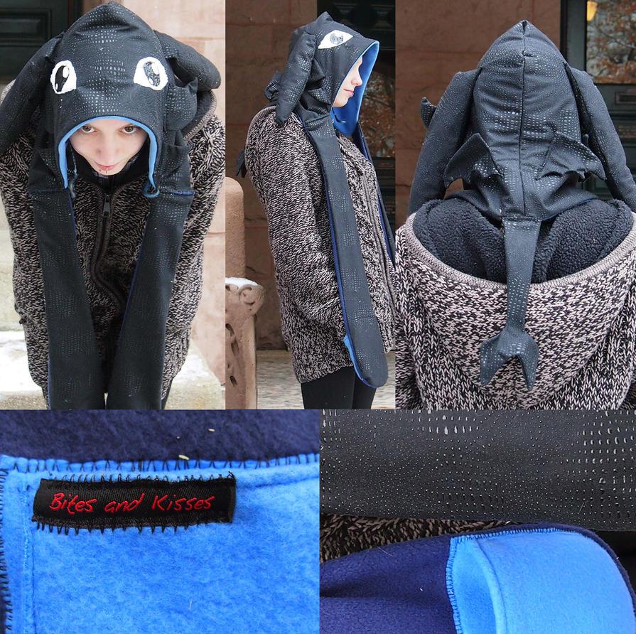 Toothless Hood by bitesandkissesX