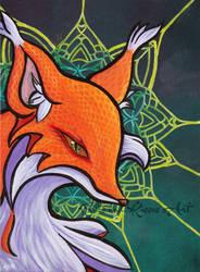 Funky Fox by bitesandkissesX