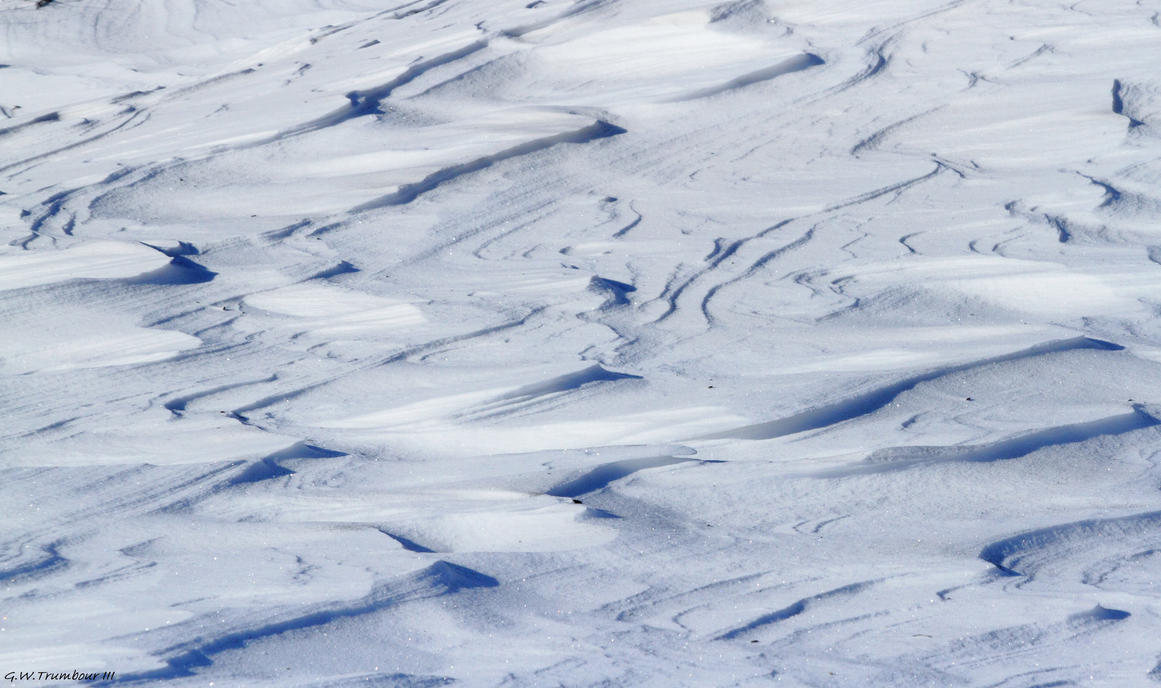 Snow Wind patterns by natureguy