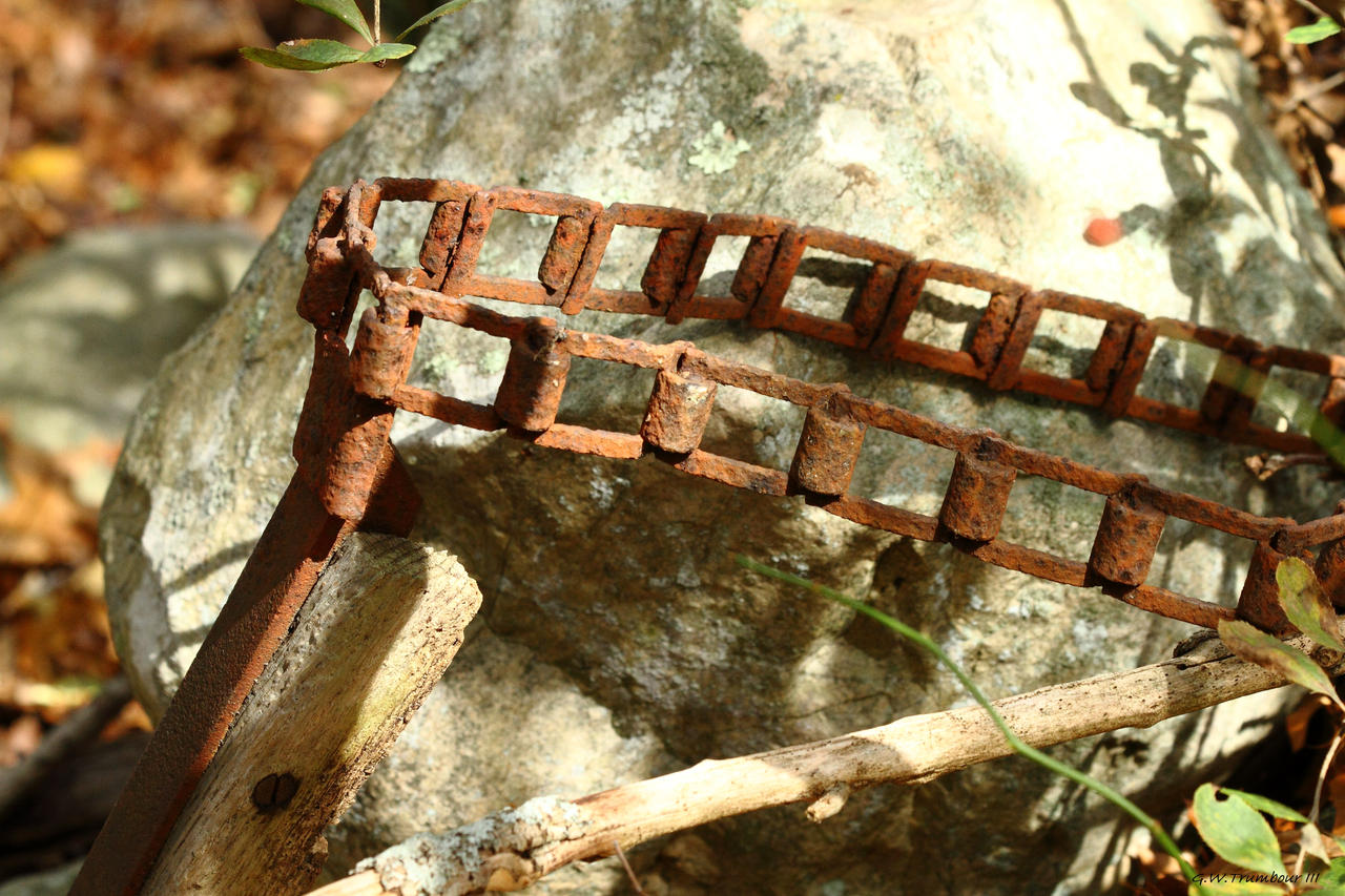 Antique Farm Chain : Old farm impliment chain by natureguy on deviantart