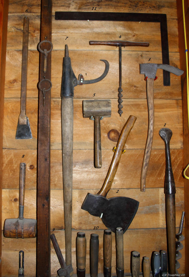1700's Carpenters tools by natureguy on DeviantArt