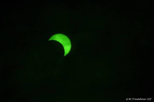 Solar eclipse 3:07 pm