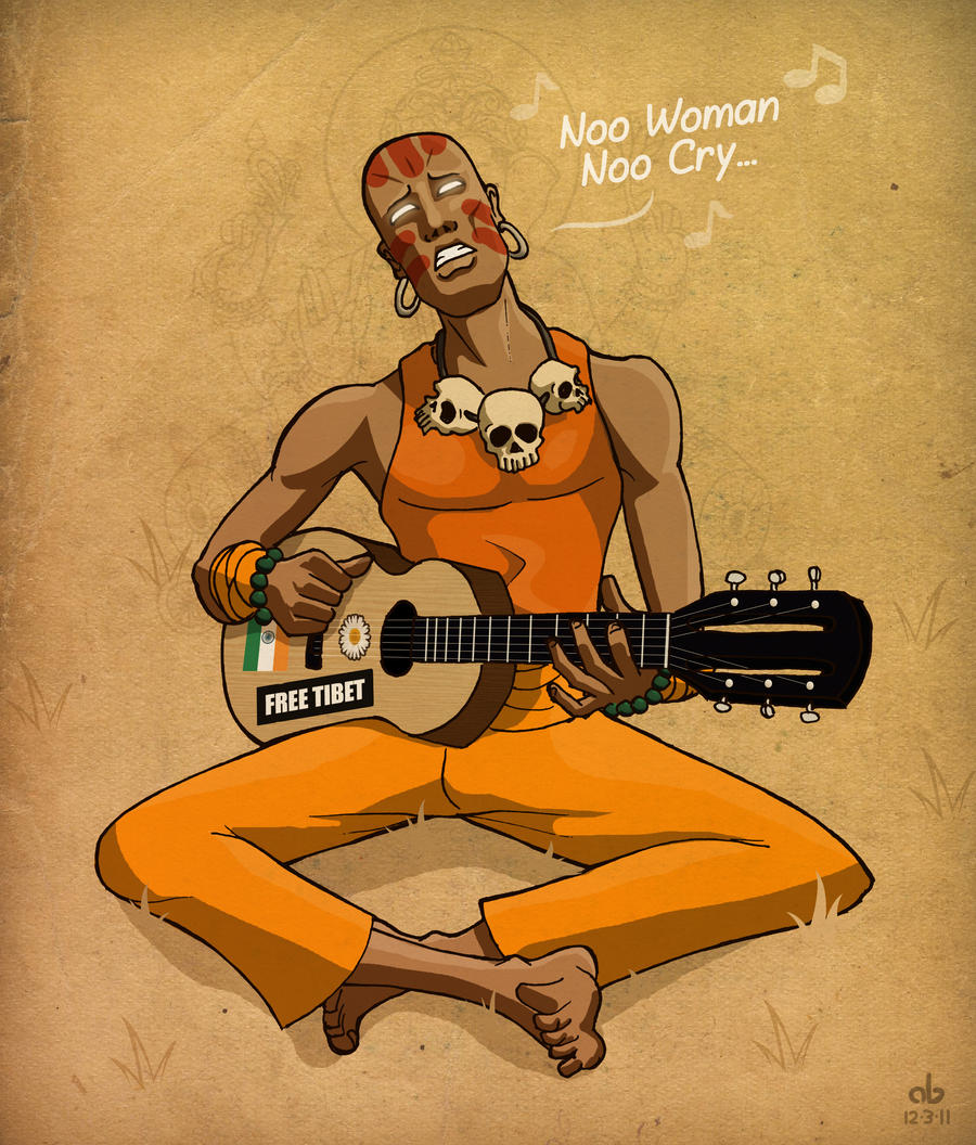 Hippy Dhalsim by xnafu