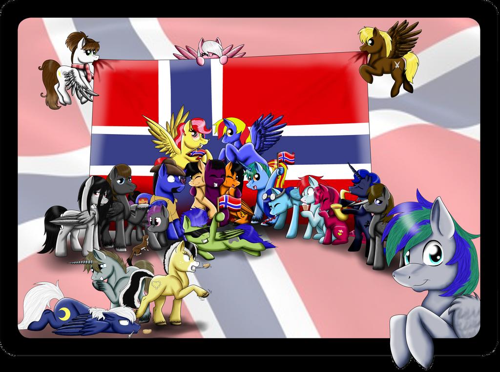 Bronies of Norway by Shadeila