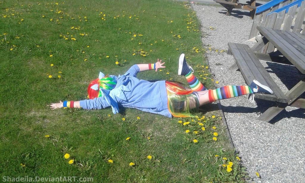 Rainbow Crash by Shadeila