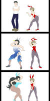 Bunnygirl Transformation by VoidStrata