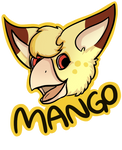 Badge - Mango the Birb?